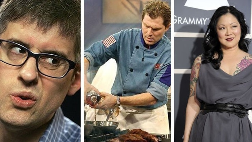 New cooking shows include those starring political satirist Mo Rocca, celebrity chef Bobby Flay and funny lady Margaret Cho.