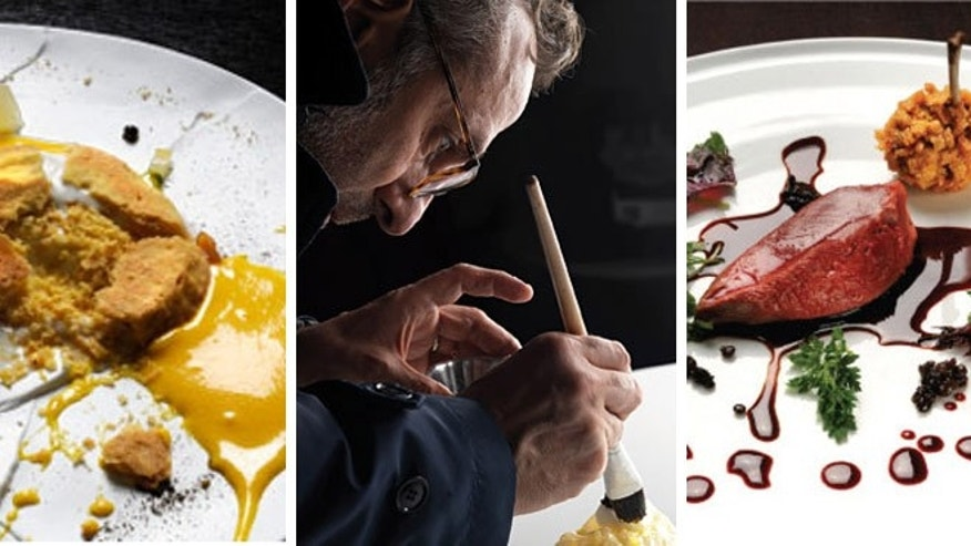 Coming in a number five, chef Massimo Bottura's Italian eatery, Osteria Francescana, takes its culinary inspiration from art, music, literature and culture.