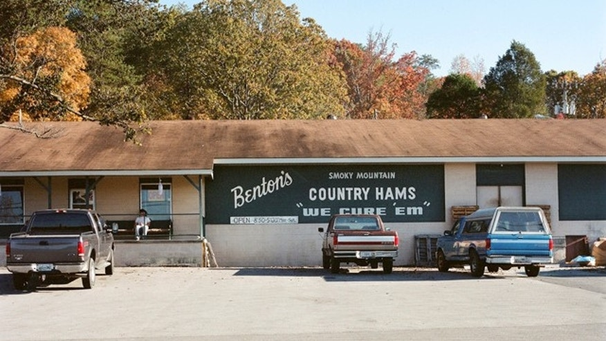 Benton's award winning Smoky Mountain Country Hams is located in an unassuming building in rural Madisonville, Tenn.