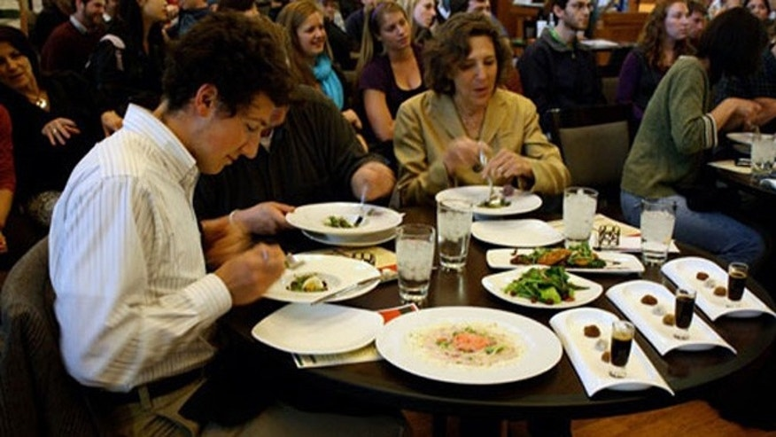Washington University in St. Louis takes the number one spot on the list. Its kitchens are run by food management giant Bon Appétit