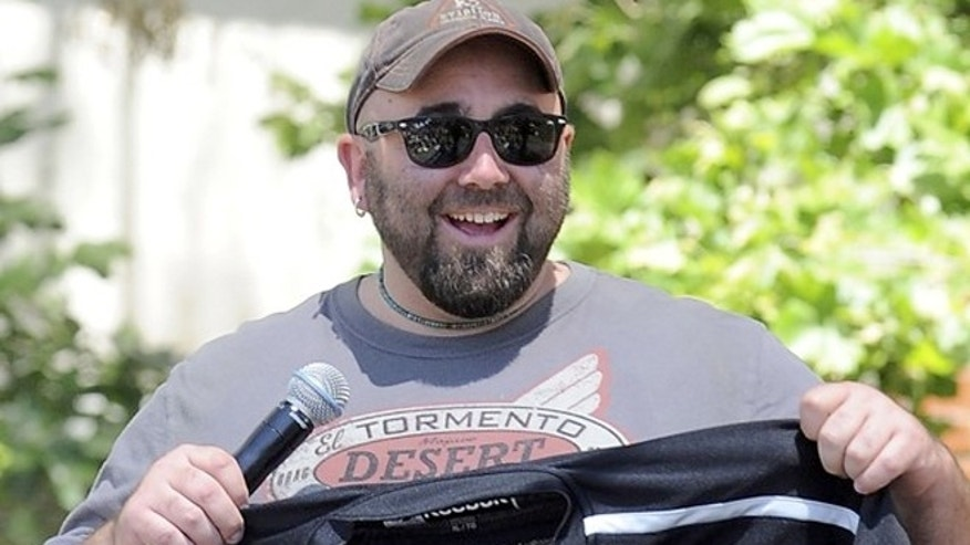 "FILE: Duff Goldman, the cake master behind Food Network's reality show ""Ace of Cakes,"" will help kick off YouTube's latest original content channel, HUNGRY."