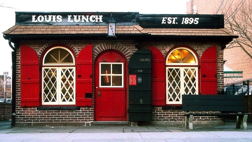 "Take a trip to Louis' Lunch in New Haven for a burger of historic proportions, cooked to order just like it was when Louis made the very first ""hamburger sandwich"" in 1900."
