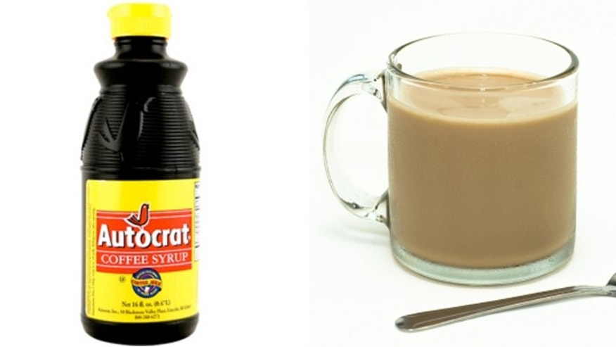 Rhode Island Autocrat Coffee Milk isn't really coffee.  It's a mix of ultra-sweet coffee syrup and milk.