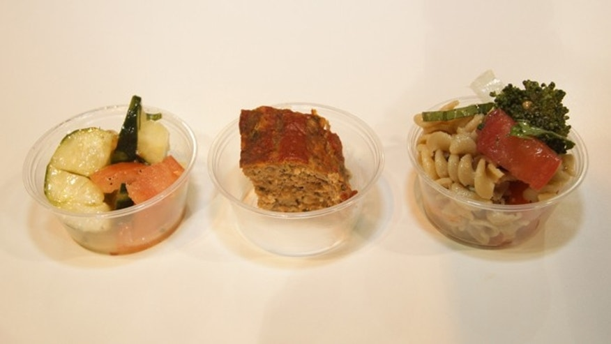 Three samples from the School Nutrition Association's Annual National Conference in Denver.