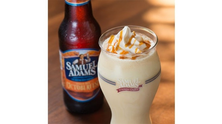 Red Robin has unveiled a beer milkshake, made with Sam Adams Octoberfest draft.