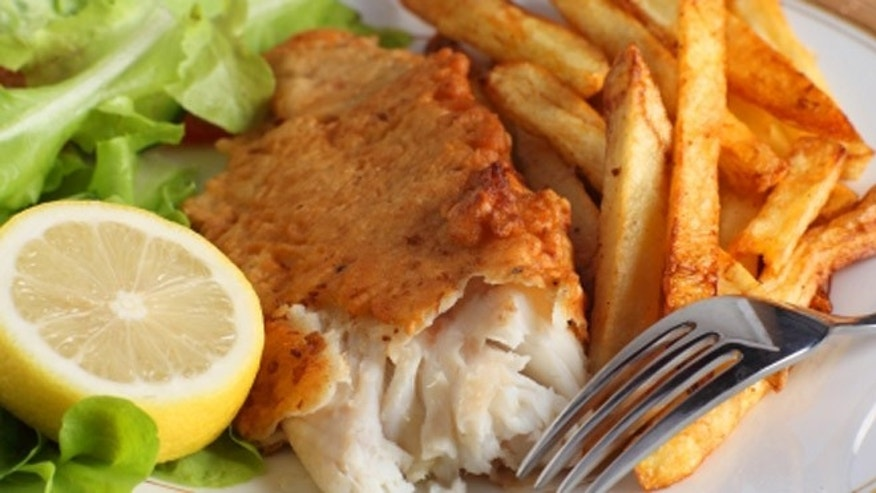 Fish and chips: United Kingdom