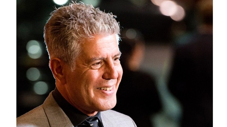 "Oct. 11, 2012: Anthony Bourdain attends""On The Chopping Block: A Roast of Anthony Bourdain""   in New York."