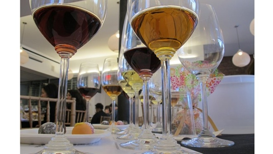 Decadent dessert wines and silky chocolate treats at the New York City Wine & Food Festival.