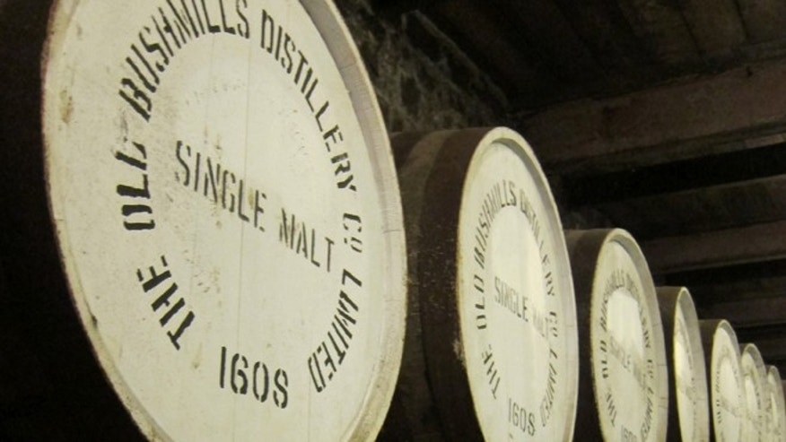 Bushmills is also known also for its lovely single-malt whiskies, like the easy-drinking Bushmill's 10 year old and the more complex Bushmill's 21-year-old, a silky sip with notes of toffee and dried fruit.