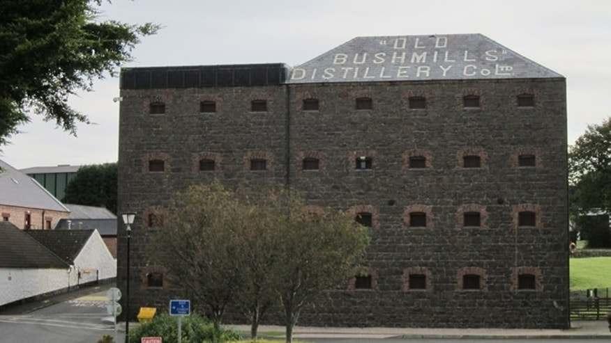 Bushmills Distillery in Northern Ireland began making its triple-distilled whiskey in 1608, but the first license to distill the spirit was granted in the area all the way back in 1408.