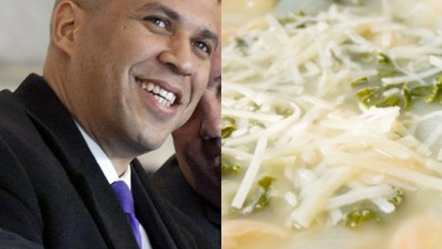 Newark Mayor Cory Booker says he plans on living on food stamps after being challenged to do so by a user on Twitter.