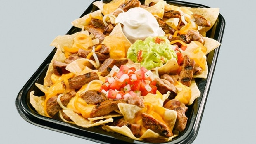 Taco Bell's new XXL Steak Nachos.
