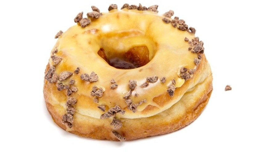 Passion Fruit Milk Chocolate donut