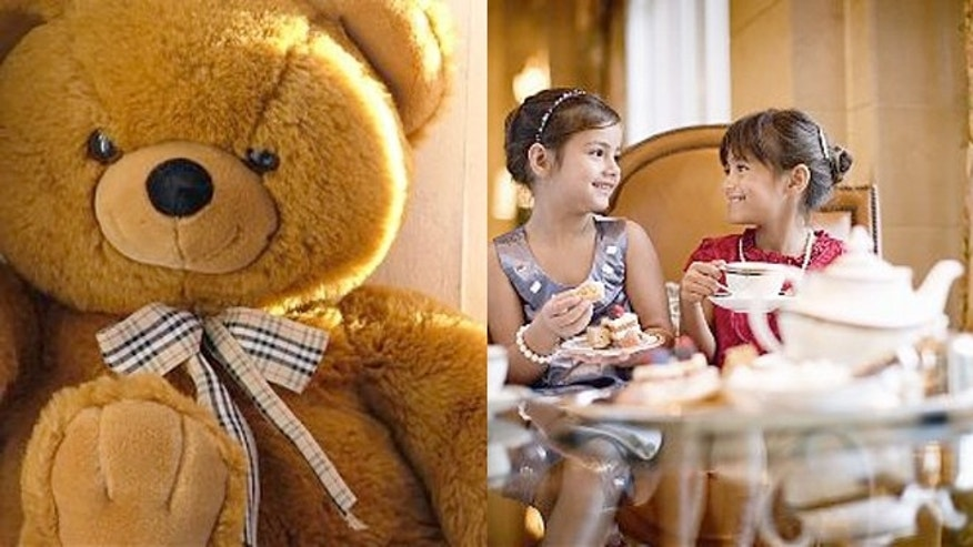 Along with traditional tea service, Teddy Bear Tea at the Ritz includes live entertainment, a special gift and, of course, bears.