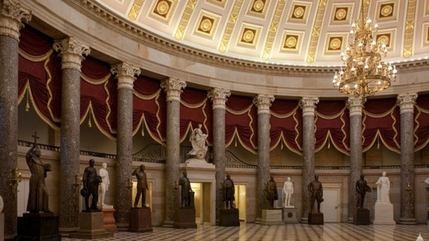 The luncheon will take place in Statuary Hall in the Capitol Building.