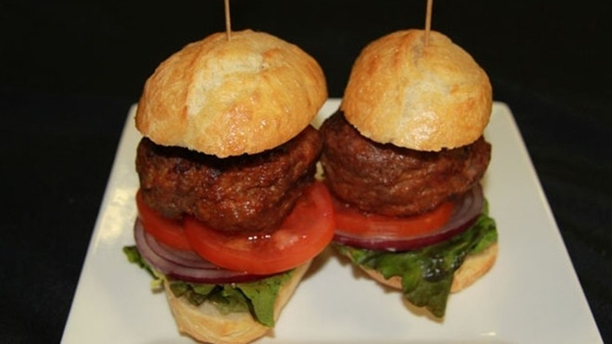 Cheese-Stuffed Bacon Infused Burgers