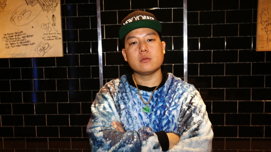Jan. 28, 2013: Chef Eddie Huang poses for a portrait at his restaurant Baohaus in New York.