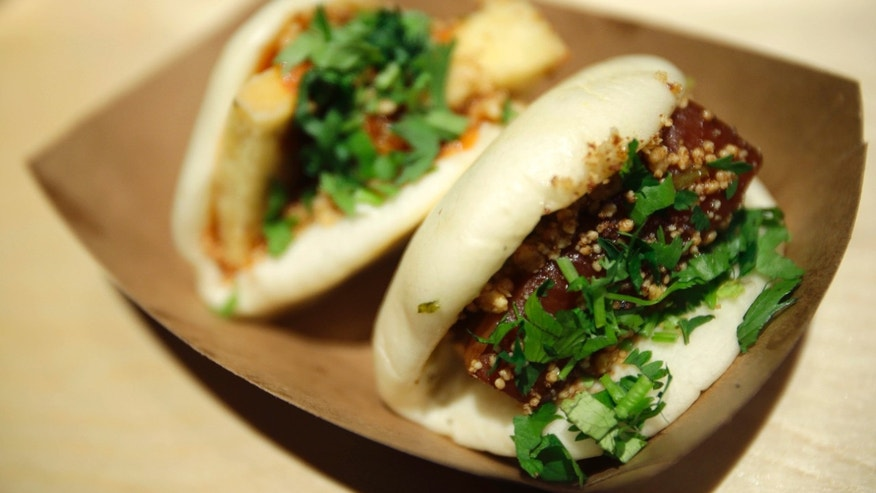 Jan. 28, 2013: The Chairman Bao and Uncle Jesse bao at chef Eddie Huang's Baohaus in New York.