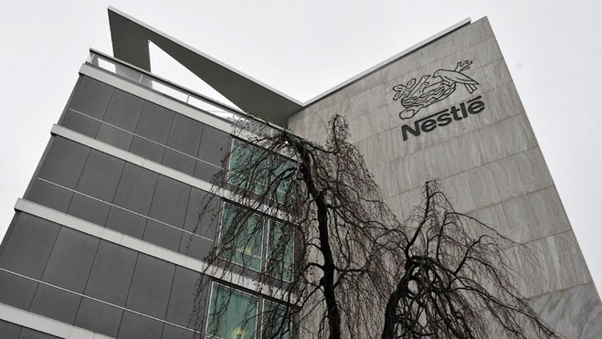 Feb. 19, 2010: An exterior view of the Nestle headquarters in Vevey, Switzerland.