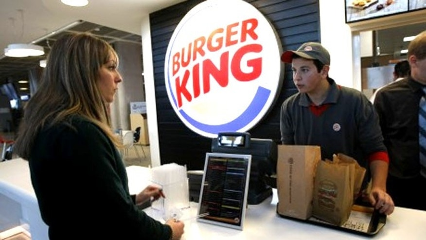 Burger King is offering a turkey burger for the first time.