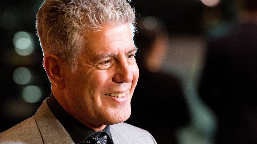 FILE:  The James Beard Foundation honored winners in media and publishing in New York on Friday, May 3, 2013, including chef Anthony Bourdain for his work on public television.