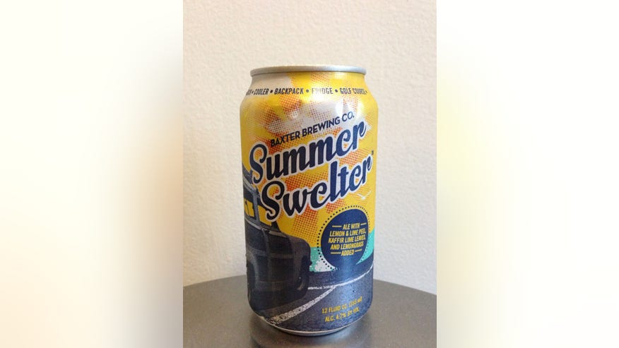 Baxter Brewing Co.'s Summer Swelter Ale - Lewiston, ME