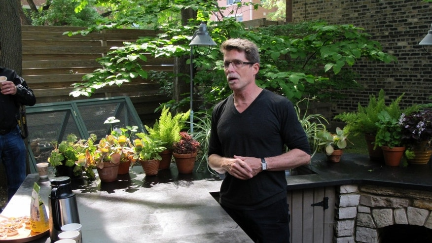 Chef Rick Bayless grows a significant amount of local produce from his own garden for this renown Chicago restaurants.