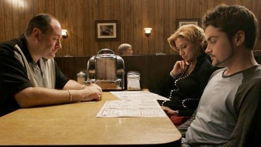 "The finale of ""The Sopranos"" was shot at Holsten's ice-cream parlor."