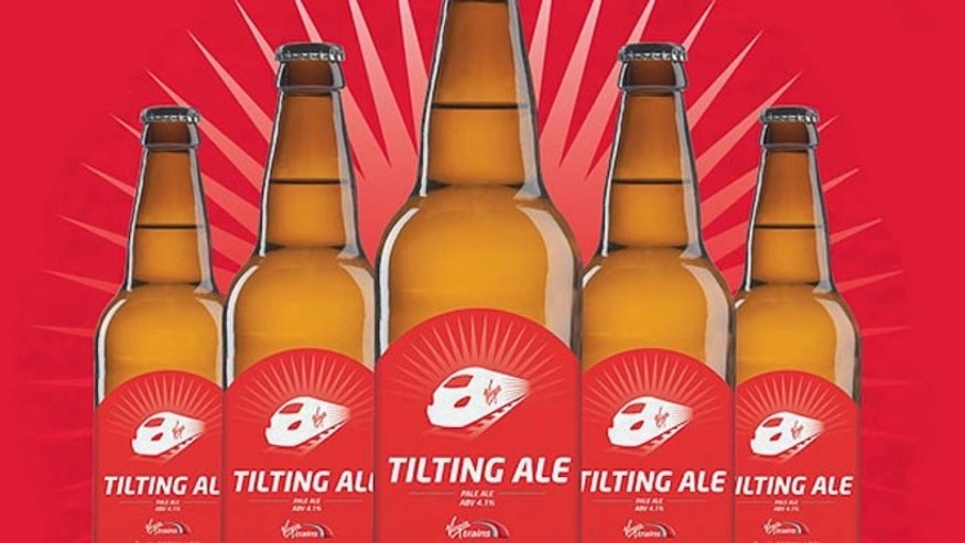 Virgin Trains has partnered with a local brewery to launch a brand new beer – the Tilting Ale.