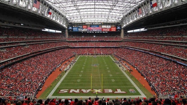 Oct 21, 2012; Houston, TX, USA; General view of Reliant Stadium during a game between the Houston Texans and Baltimore Ravens in the third quarter. The Texans defeated the Ravens 43-13. Mandatory Credit: Brett Davis-US PRESSWIRE
