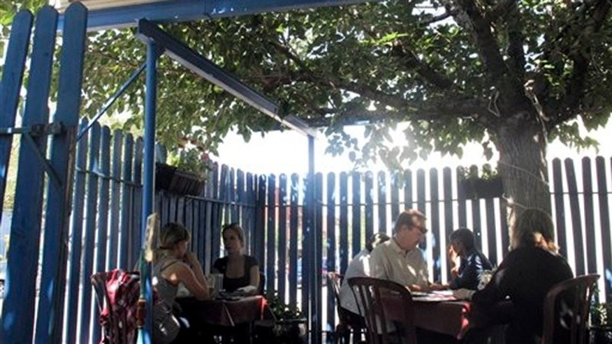 Sept 5, 2013: El Patio de Albuquerque, a longtime, unpretentious eatery near Albuquerque's University of New Mexico campus.