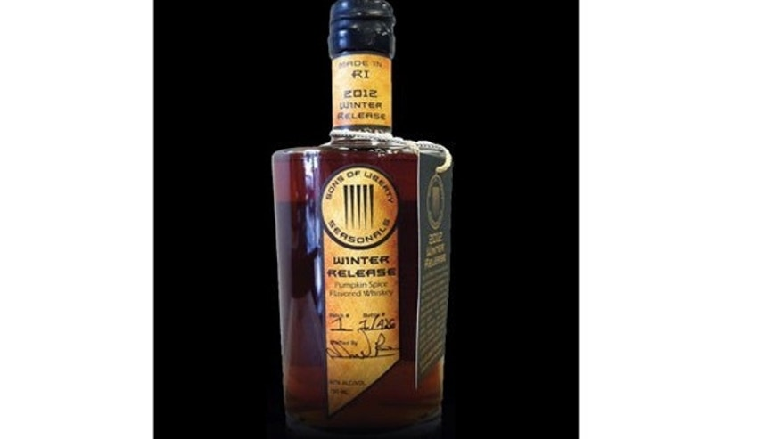Liberty Spirit Company's  Pumpkin Spice Whiskey will hit store shelves this week.