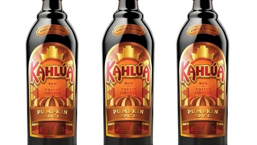 Kahlua Pumpkin Spice is pumpkin and spices and Kahlua's blend of Arabica coffee and sugarcane rum blend.
