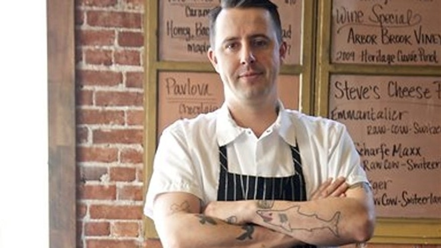 Gabriel Rucker, chef and co-owner of Le Pigeon restaurant in Portland.