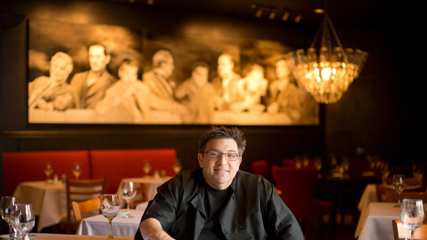 Oct. 23, 2013: Angelo Lutz at his newly expanded restaurant The Kitchen Consigliere in Collingswood, N.J.
