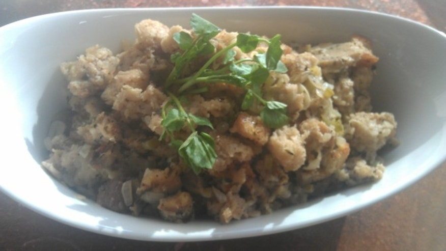 Sam Choy's Portuguese Sausage Stuffing