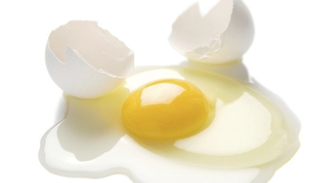 how to take out egg white
