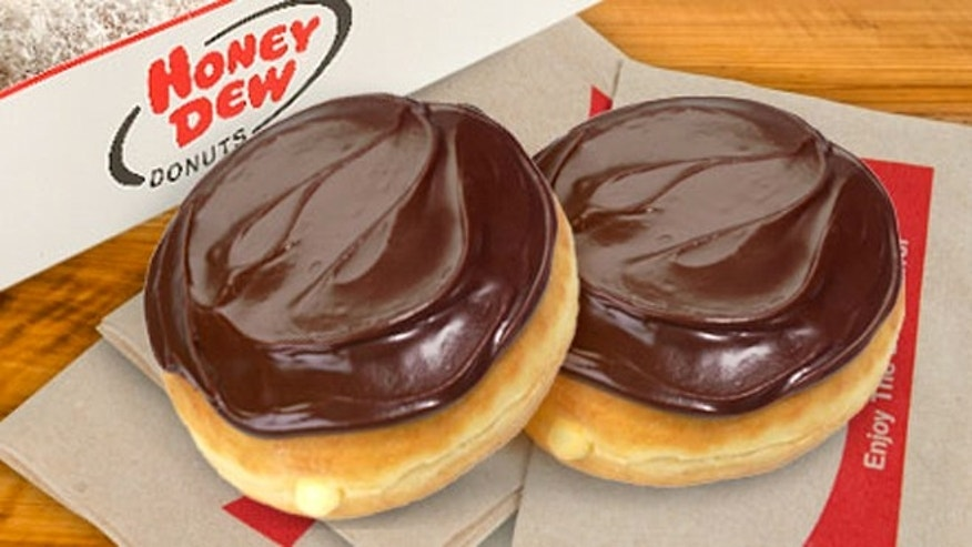 Donuts like these won't be for sale in a Quincy, Mass. Honey Dew shop located inside the YMCA.