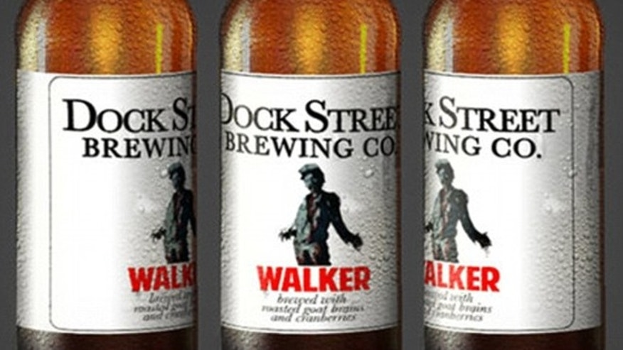 "The beer will debut on Sunday March 30 to coincide with the season finale of ""The Walking Dead."""