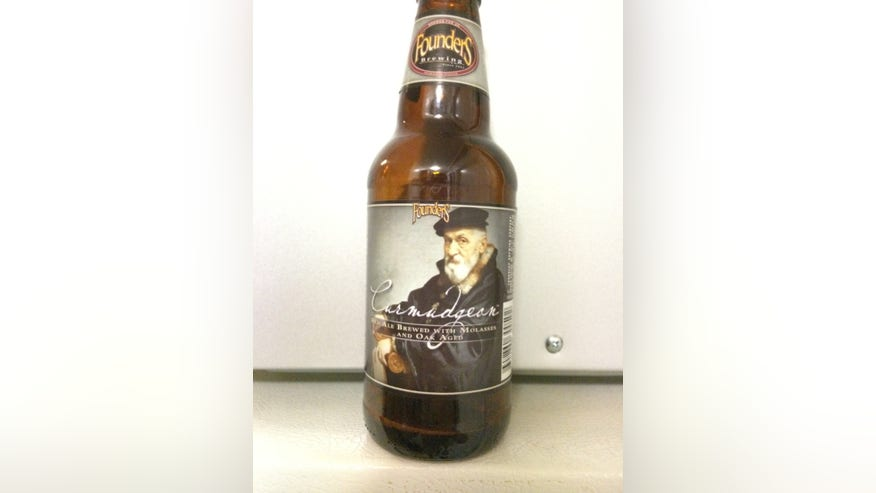 Founders Brewing's Curmudgeon