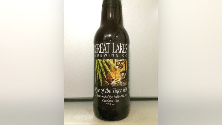 Great Lakes Brewing Co.'s Rye of the Tiger IPA