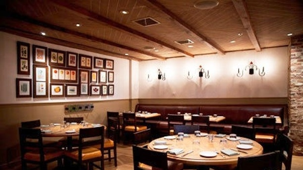 Family Room in Agricola Restaurant in Princeton, NJ for Mucca Design