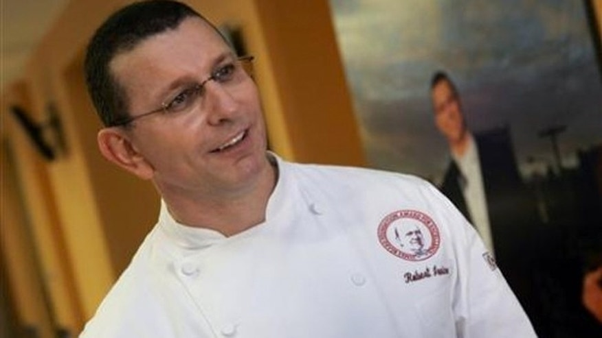 Celebrity chef Robert Irvine's announced that he was opening a restaurant in the Pentagon.