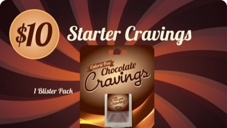 Will zero calorie chocolate strips really satisfy cravings?