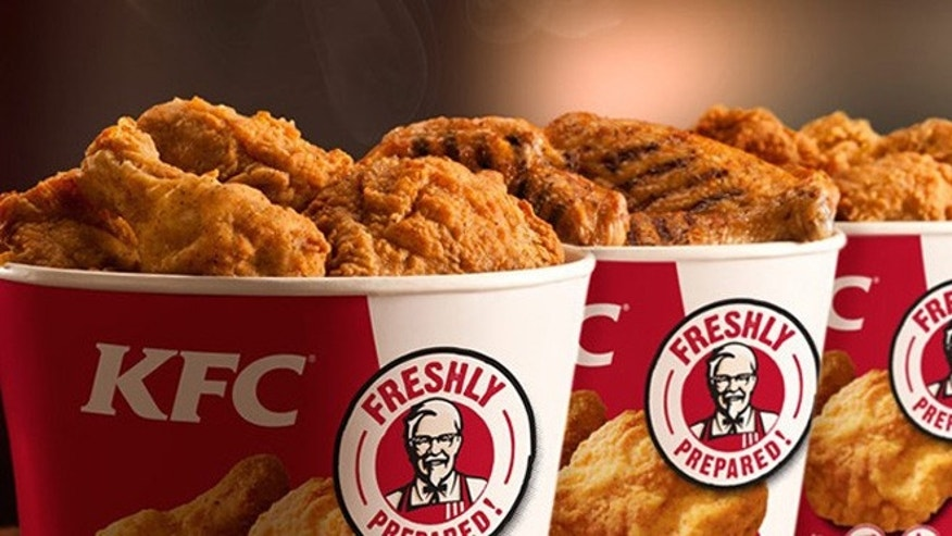 KFC might be serving more than chicken.