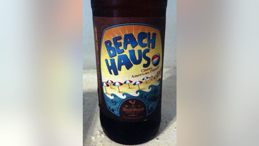 East Coast Beer Company Beach Haus Classic American Pilsner