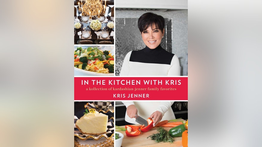 Kris Jenner can now add cookbook author to her resume.