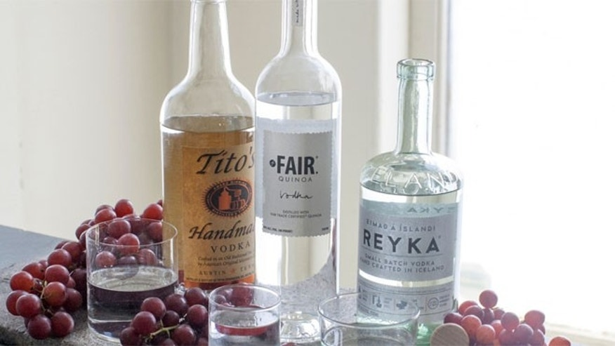 Vodka makers are going back to basic and moving away flavored vodkas.