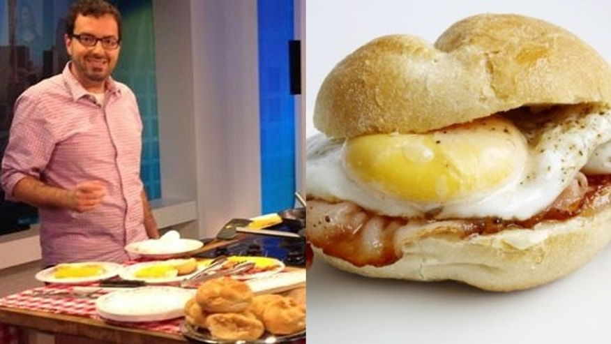 Joseph Checkler has started a Kickstarter campaign to save the egg sandwich.