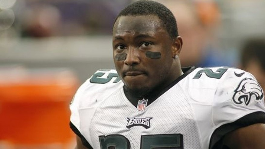 Tommy Up, the owner of Philly burger joint PYT, is defending his decision to post a receipt purportedly signed by Philadelphia Eagles' LeSean McCoy, above, indicating he left a 20-cent tip on a $61.56 check. (AP)